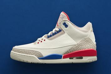 """International Flight"" Air Jordan 3 Releasing This Week"