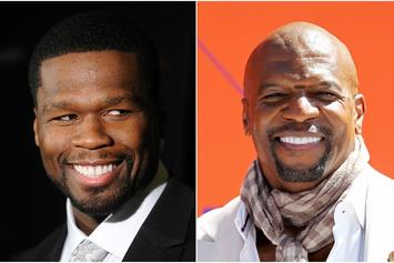 "50 Cent Sets Sights On Terry Crews In Latest ""Get The Strap"" Madness"