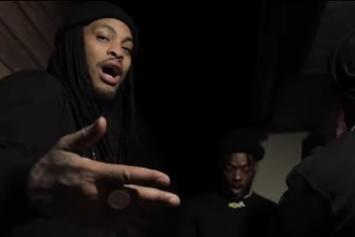 "Waka Flocka Turns Thief In ""Down Bad"" Music Video With  Loudiene & J Dubb"