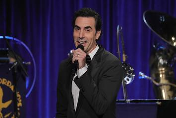 Sacha Baron Cohen Trolls Trump & Hints At New Movie On Twitter
