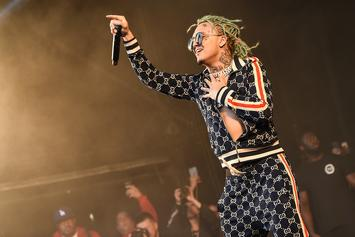 Lil Pump Stops Performance To Help Fan Having A Seizure