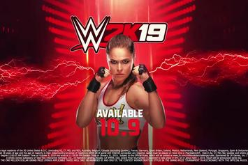 WWE 2K19: Ronda Rousey Announced As A Pre-Order Bonus