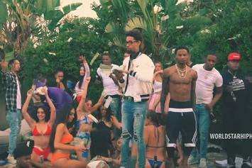 "PnB Rock Throws A Wild Pool Party In New Video For ""London"""