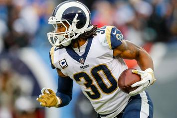 "Todd Gurley Suggests NFL Players Are ""Mad About NBA Contracts"""