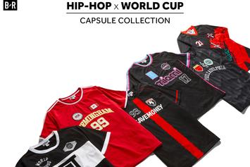 "21 Savage & Others Design Jerseys For ""World Cup x Hip Hop"" Collection"