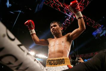 Manny Pacquiao Drops Lucas Mathysse With 7th Round TKO To Win WBA Title