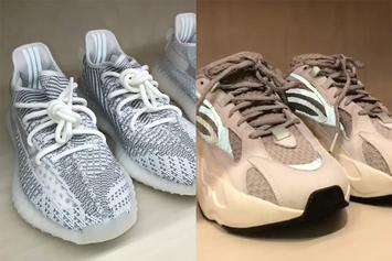Kim Kardashian Reveals Adidas Yeezy Samples