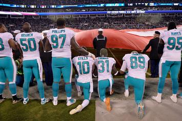 Miami Dolphins Players Who Protest During Anthem Could Be Suspended
