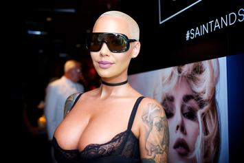 Amber Rose Wants Everyone To Know She Had Sex Last Night