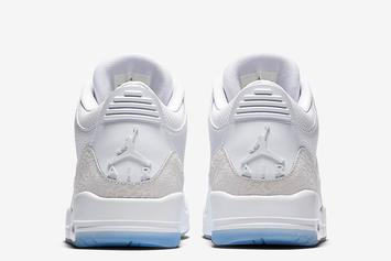 "Air Jordan 3 ""Pure White"" Drops Tomorrow: Where To Purchase"