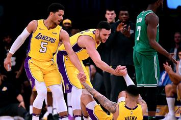 "Kyle Kuzma Upset With His NBA 2K Rating: ""Y'all Will Learn Though"""