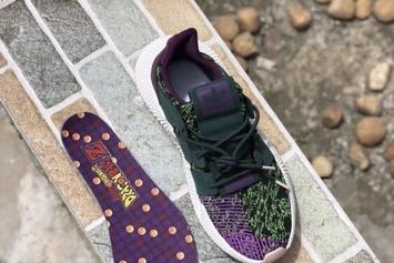 """Dragon Ball Z x Adidas Prophere """"Cell"""" New Images"""