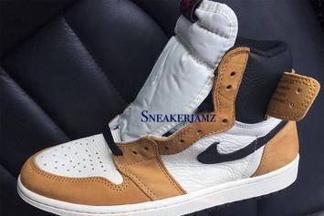 "Air Jordan 1 ""Ginger"" Coming This Year: First Look"