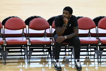 """Kyrie Irving Ready For Celtics Camp After """"Long F*cking Two Months"""""""
