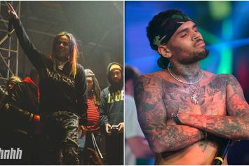"6ix9ine Challenges Chris Brown To Zoolander-Esque ""Who Looks Better"" Poll"