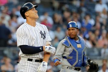 "Yankees Fans Hold ""Candlelight Vigil"" Following Aaron Judge Injury"