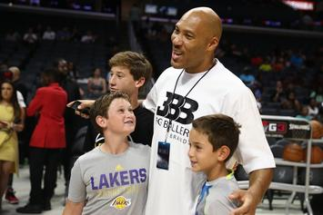 "LaVar Ball To Launch ""Baby Baller Brand"" For Toddlers"