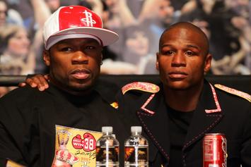 """50 Cents Calls Floyd Mayweather His """"Little Brother"""" On Instagram"""