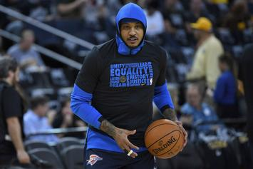 Carmelo Anthony Finalizes Buyout With Atlanta Hawks
