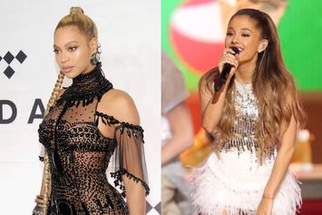 "Ariana Grande Includes Revamped Beyonce Demo On Her New ""Sweetener"" Album"