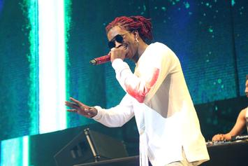"Young Thug Reveals ""Slime Language"" Tracklist With An Actual Snake"