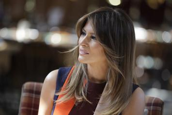 Melania Trump Sides With LeBron James Despite Her Husband's Tweet