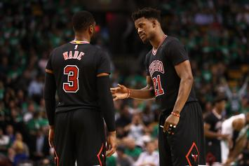 Dwyane Wade & Jimmy Butler Perform Smoky Rendition Of K-Ci & JoJo