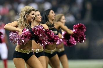 Rams, Saints First NFL Teams With Male Cheerleaders