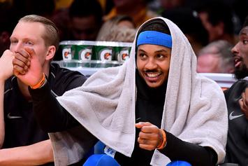 Carmelo Anthony Agrees To Sign With Houston Rockets: Report