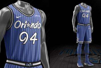 Orlando Magic 30th Anniversary Retro Uniforms And Logo Revealed