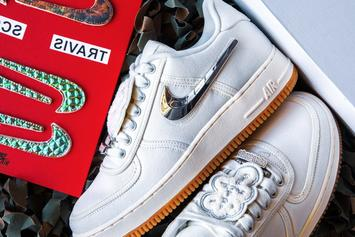 "Travis Scott x Nike Air Force 1 Low ""Sail"" Releases Today: Purchase Links"