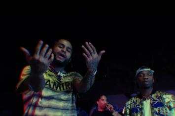 """Dave East & BlocBoy JB Show Out With """"No Stylist"""""""