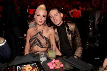 G-Eazy Fans Speculate That He Got A Tattoo Of Halsey On His Arm