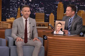 Jimmy Fallon Vomits After Playing Disgusting Drinking Game With Ryan Reynolds