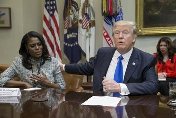 "Donald Trump Calls Omarosa A ""Dog"" After She Claims He Used N-Word On Tape"