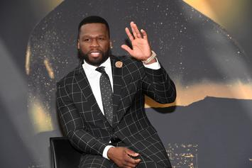 "50 Cent Shares Theory On Who Shot Up ""Get The Strap"" Video Set"