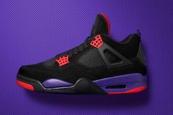"Air Jordan 4 ""Raptors"" Makes Retail Debut This Weekend"