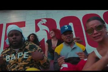 "Chance The Rapper & Reeseyman Have Good Old Fashioned Fun In ""What's The Hook"" Video"
