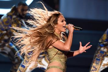 Jennifer Lopez Slays MTV VMAs With Hit-Filled Medley, Versace Fits & Age-Defying Body