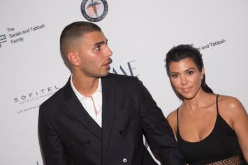 Drake & OBJ Watch As Kourtney Kardashian's Ex Beats Up Club Doorman