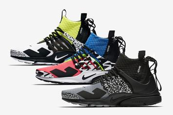 Acronym x Nike Air Presto Mid Official Images Revealed