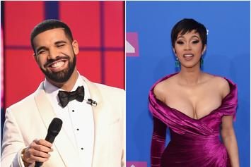 Drake, Cardi B, Juice WRLD Lead Spotify's Top Songs Of Summer