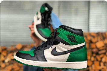 "Air Jordan 1 ""Pine Green"" Makes Retail Debut Next Month"