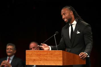 Cardinals' Larry Fitzgerald Speaks At Sen. John McCain's Memorial Service