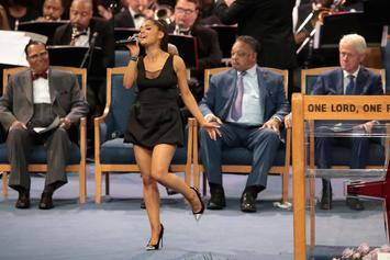"Ariana Grande Sings ""Natural Woman"" At Aretha Franklin's Funeral & Bill Clinton Is A Fan"