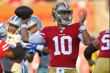 49ers QB Jimmy Garoppolo Signs Deal With Jordan Brand