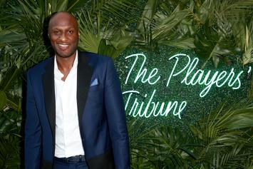 """Lamar Odom Spotted Leaving Miami Club With """"Three Or Four Women"""""""