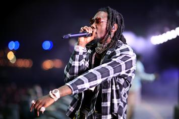 Offset Gets Giant Face Tattoo Of Daughter's Name