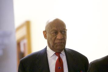 "Bill Cosby's Walk of Fame Star Vandalized With ""Serial Rapist"" Graffiti"