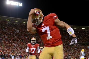 "Colin Kaepernick Unveils ""I'm With Kap"" Football Jerseys"